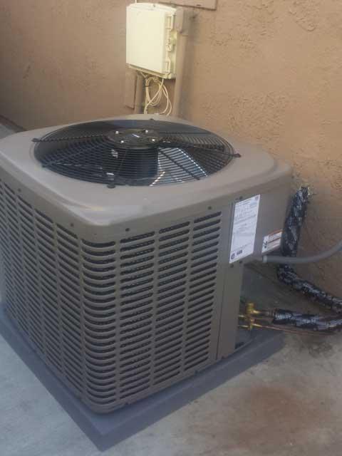 new air conditioning condenser installation in hacienda heights