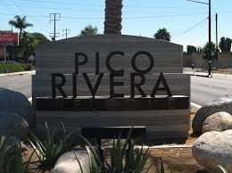 Pico Rivera Sign