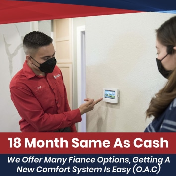 18 Months Same AS Cash Financing