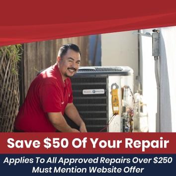 Save $50 Of Your Repair