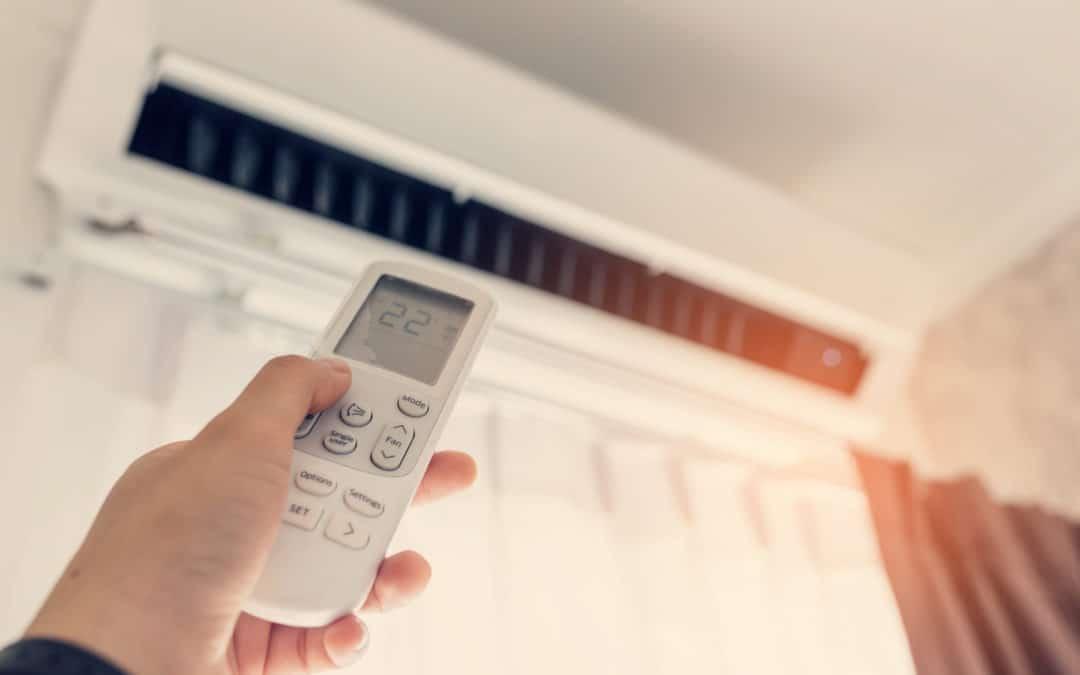 remote control air conditioning unit